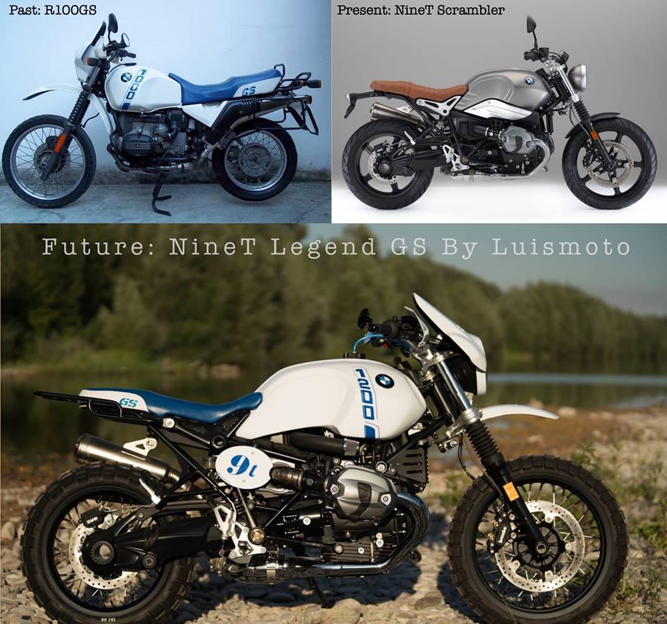 Bmwr: BMW R NineT Legend GS By Luismoto
