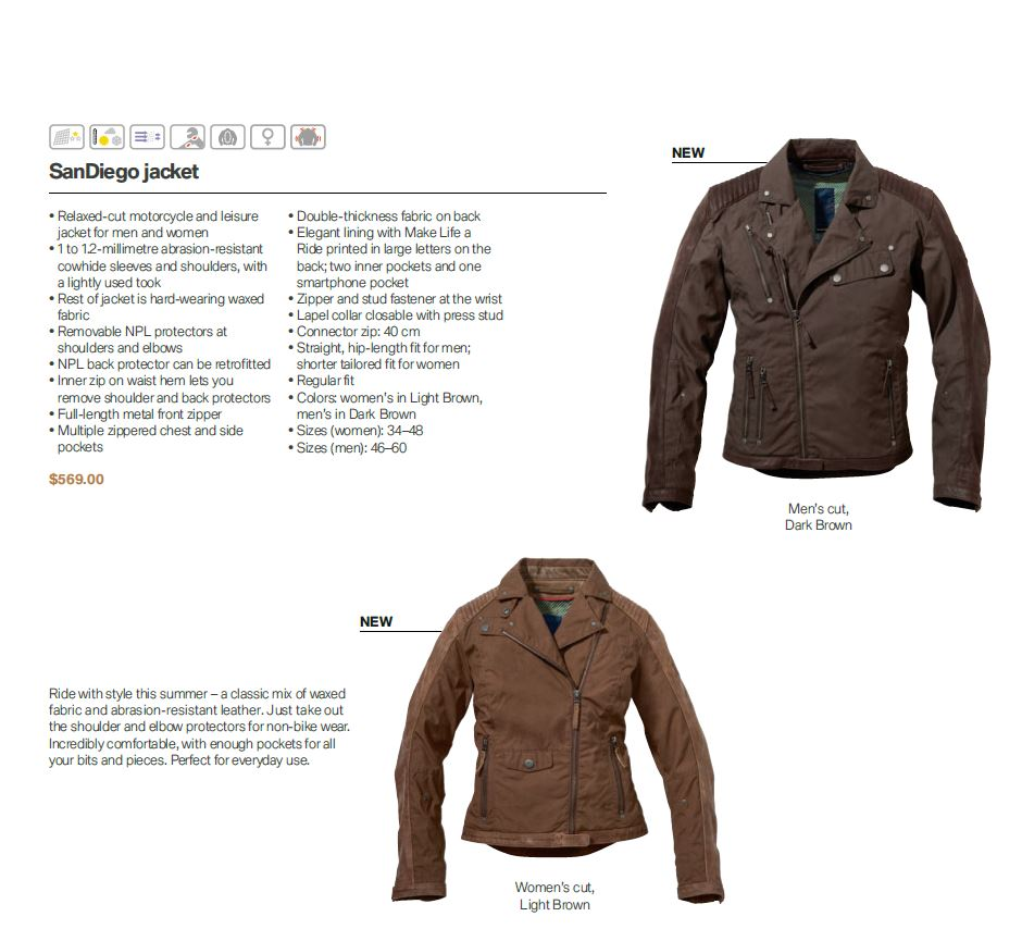 what jacket do you wear? - page 38 - bmw ninet forum