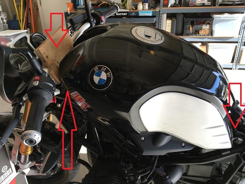 Bmw Charlotte Nc >> Battery Terminals Access DIY - BMW NineT Forum