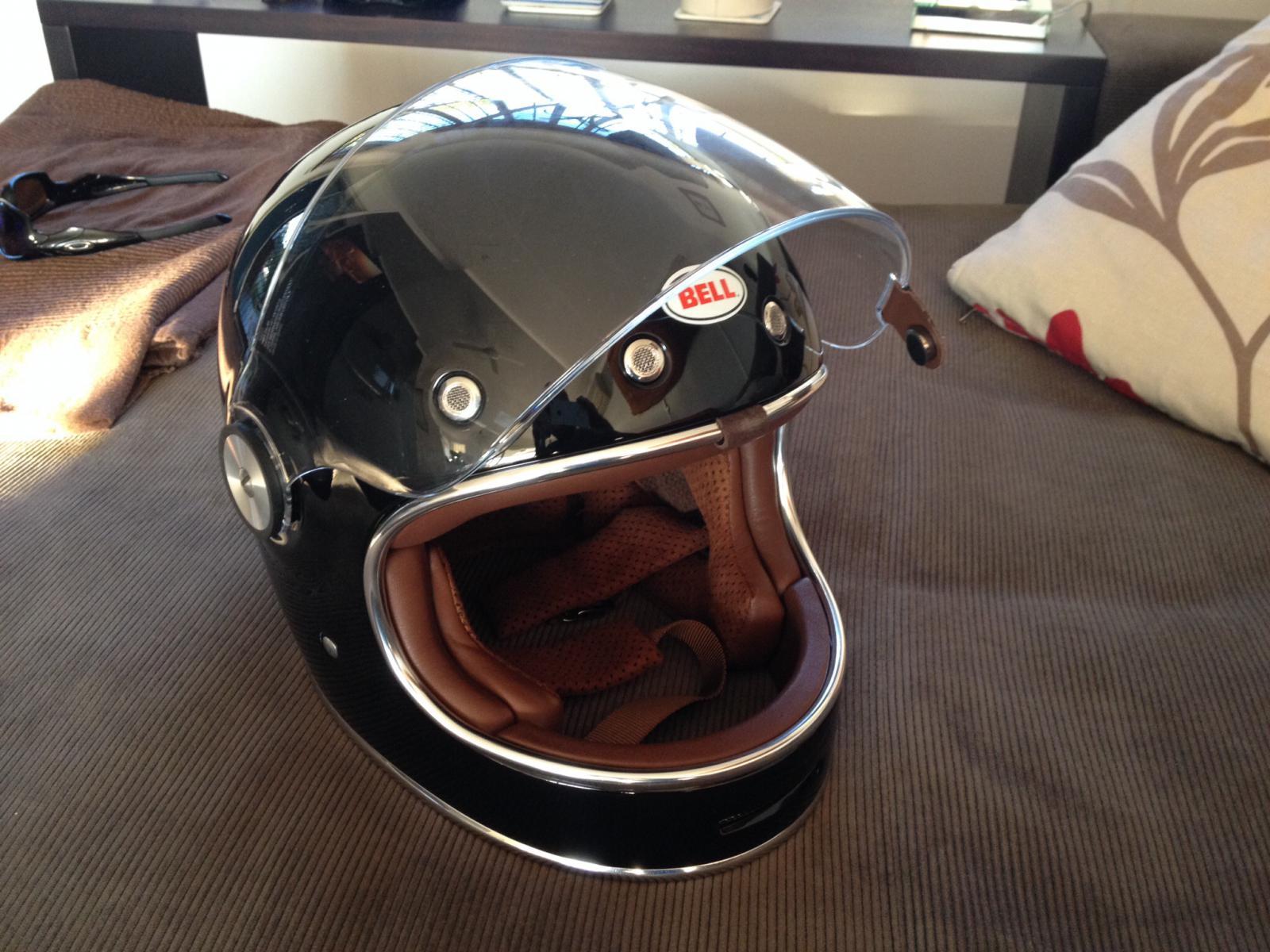 My Bell Bullitt Helmet - Page 4 - BMW NineT Forum