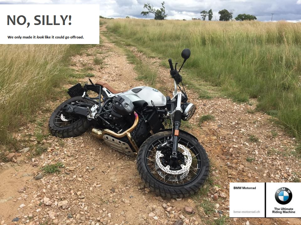 Bmw R Nin T >> Failed attempt going offroad - Page 2 - BMW NineT Forum